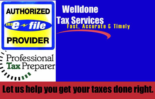 Welldone Tax Services